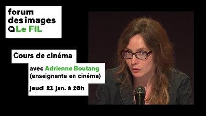 """Cours de cinéma """"Des coulisses aux projecteurs : la mise en scène de l'intime"""""""