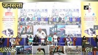 PM Modi ने दिया मेट्रो का तोहफा, कहा- Gujrat की विकास यात्रा का नया अध्याय शुरू