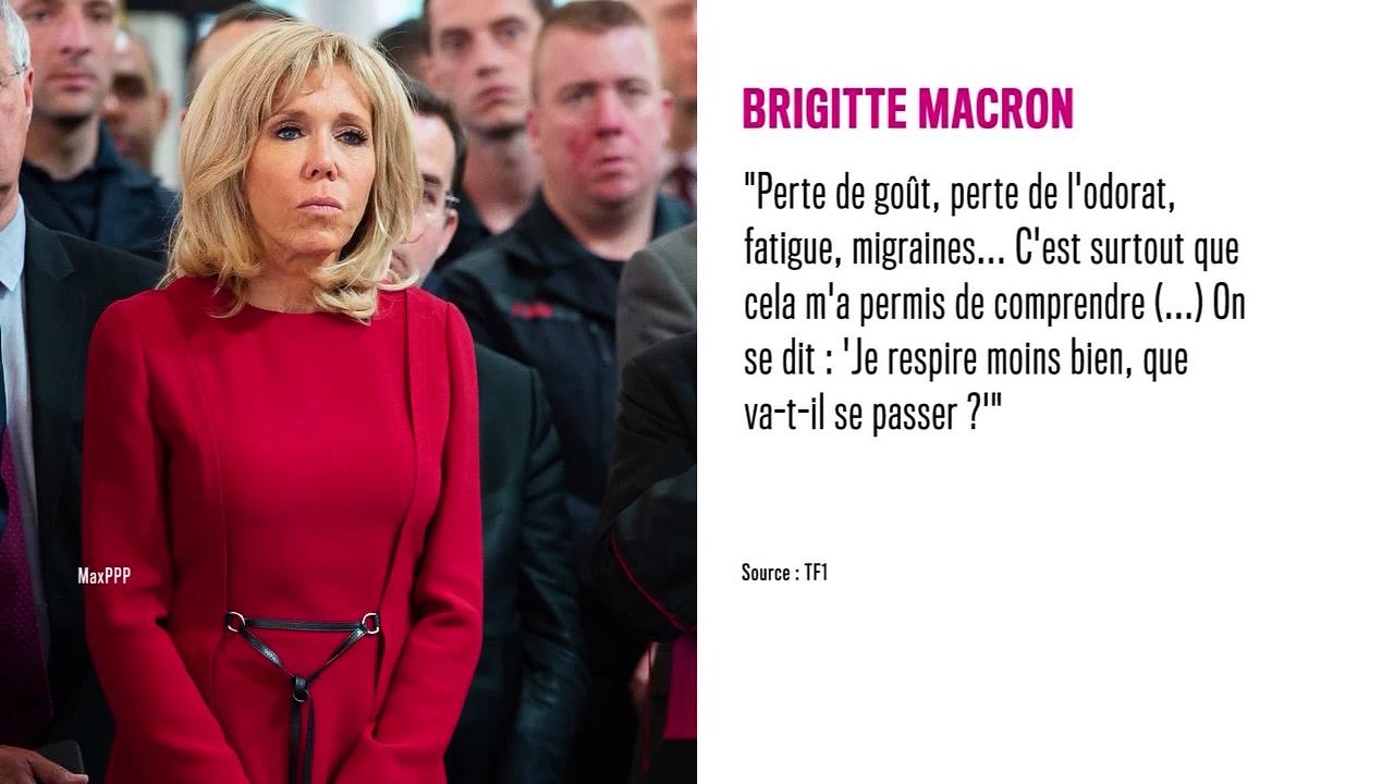 Brigitte Macron : touchée par la Covid-19, elle se livre sur ses symptômes