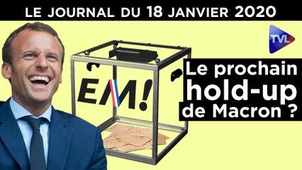 Vote par correspondance : La grande manipulation ? - Journal du Lundi 18 Janvier 2021