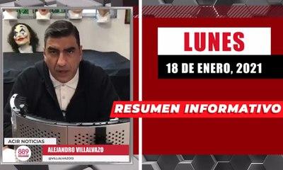 Resumen de noticias lunes 18 de enero  2021 / Panorama Informativo / 88.9 Noticias