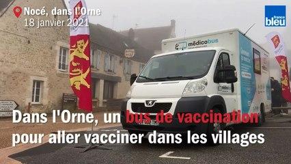 """Dans l'Orne, un """"médicobus"""" comme moyen mobile de vaccination dans les zones rurales"""