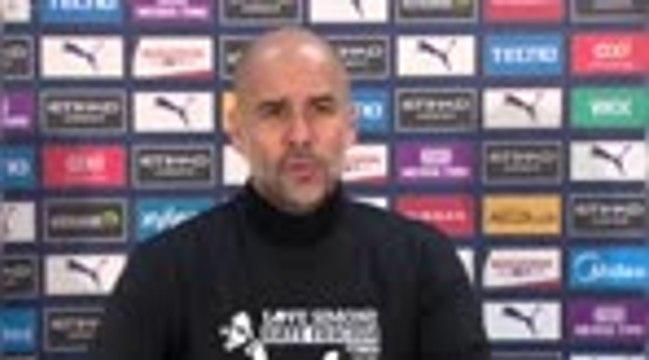 """19e j. - Guardiola : """"La course au titre va être passionnante"""""""