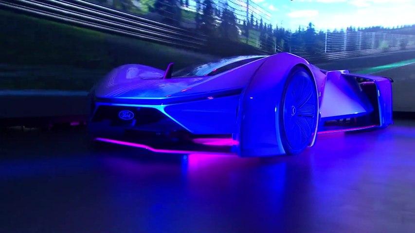 سيارة السباق الافتراضية Extreme P1 لفريق Fordzilla تظهر لأول مرة في العالم الحقيقي