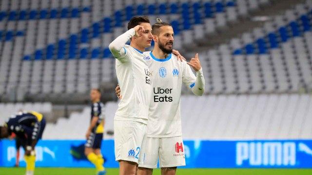 2020-2021 | OM 2-1 AS Monaco : Les buts olympiens