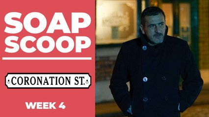 Coronation Street Soap Scoop! Peter fights for Carla