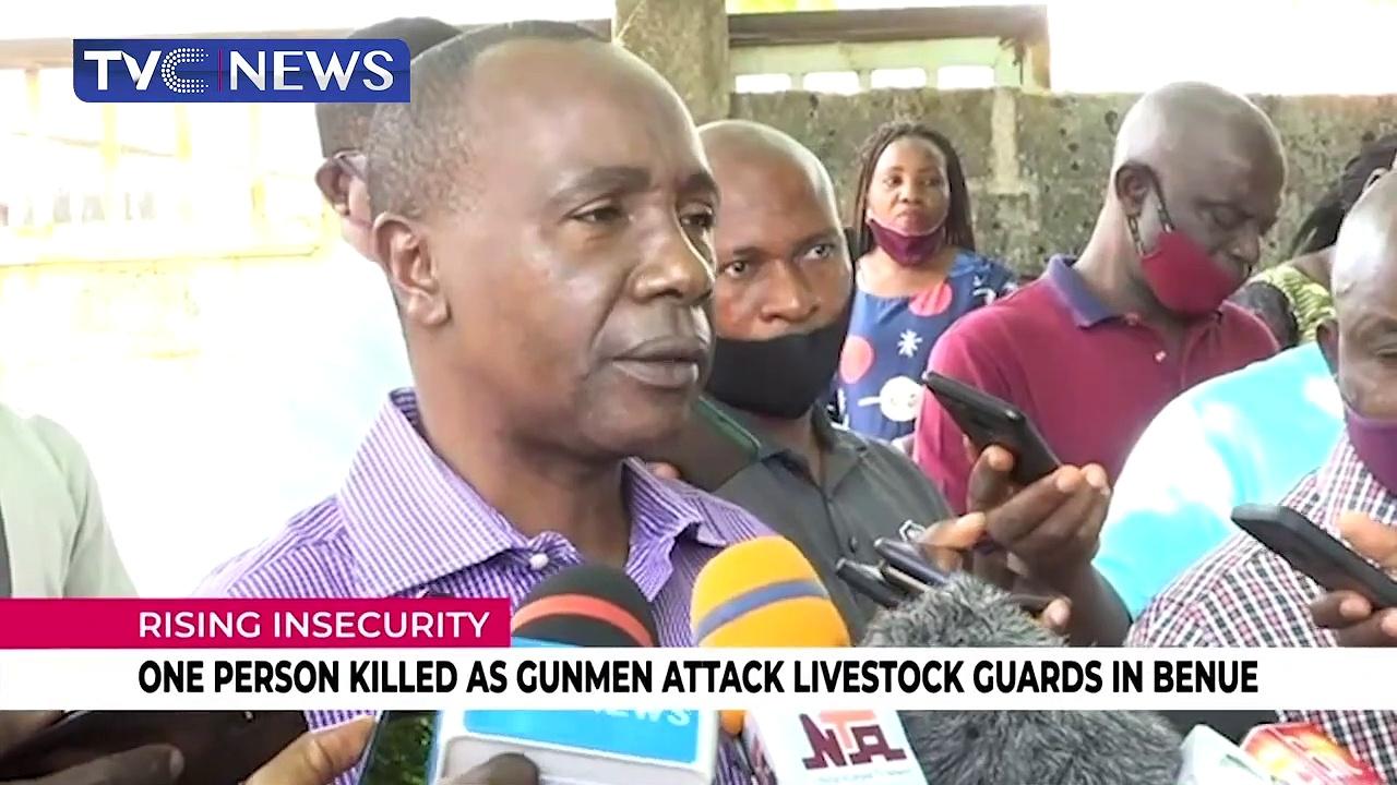 One person killed as gunmen attack livestock guards in Benue