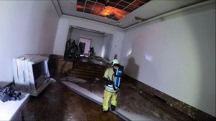 Incendie à Bozar le 18 janvier 2021