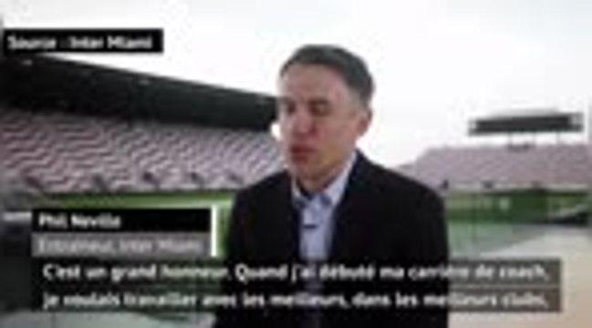 """MLS - Neville : """"Je veux que l'Inter Miami ait sa propre identité"""""""