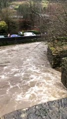River levels start to rise in Calderdale with flood alerts issued