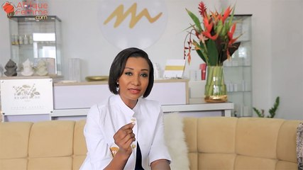 Isabelle Moreno, fondatrice des Instituts Moreno's se prête aux questions des internautes d'Afrique femme