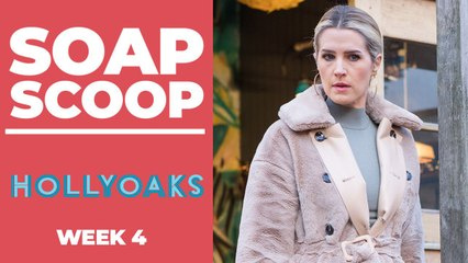 Hollyoaks Soap Scoop! Mandy makes a new cover-up plan