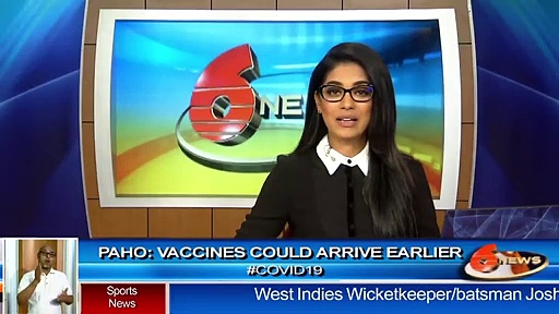PAHO: Vaccines could arrive earlier