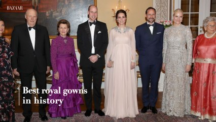 Best royal gowns in history