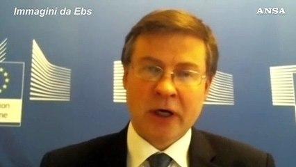 """Governo, Dombrovskis: """"Ci auguriamo crisi politica non ostacoli lavoro su Recovery"""""""