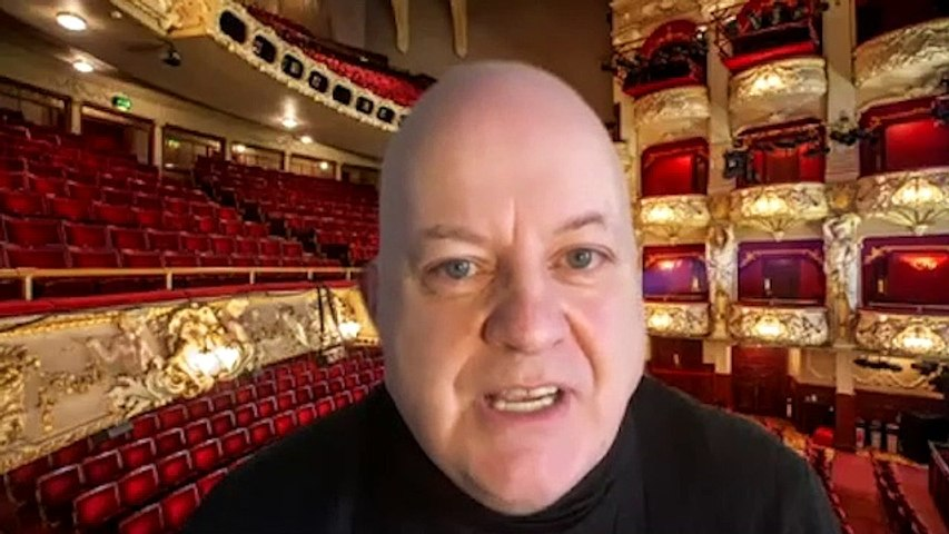 Liam Rudden pays tribute to panto king, Andy Gray