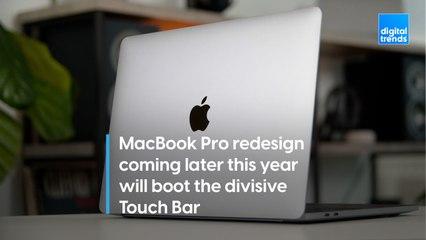 Apple's MacBook Pro redesign in 2021