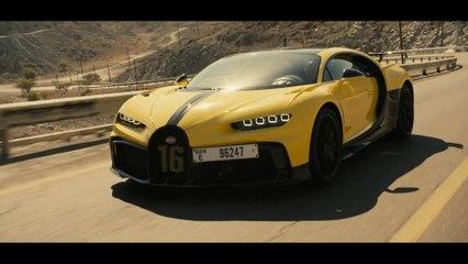 La Bugatti Chiron Pur Sport dans les Monts Hajar
