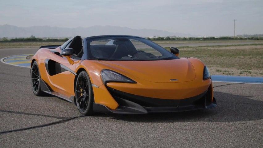 McLaren 600LT Spider Design in Myan Orange