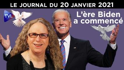 Biden et les nouveaux visages de l'Amérique - JT du Mercredi 20 Janvier 2021