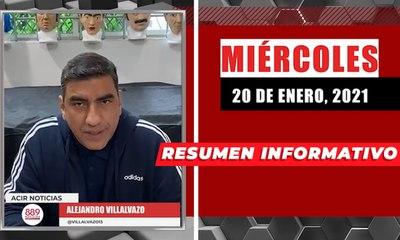 Resumen de noticias miércoles 20 de enero  2021 / Panorama Informativo / 88.9 Noticias
