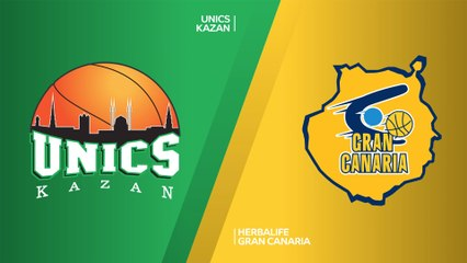 7Days EuroCup Highlights Top 16, Round 2: UNICS 73-62 Gran Canaria