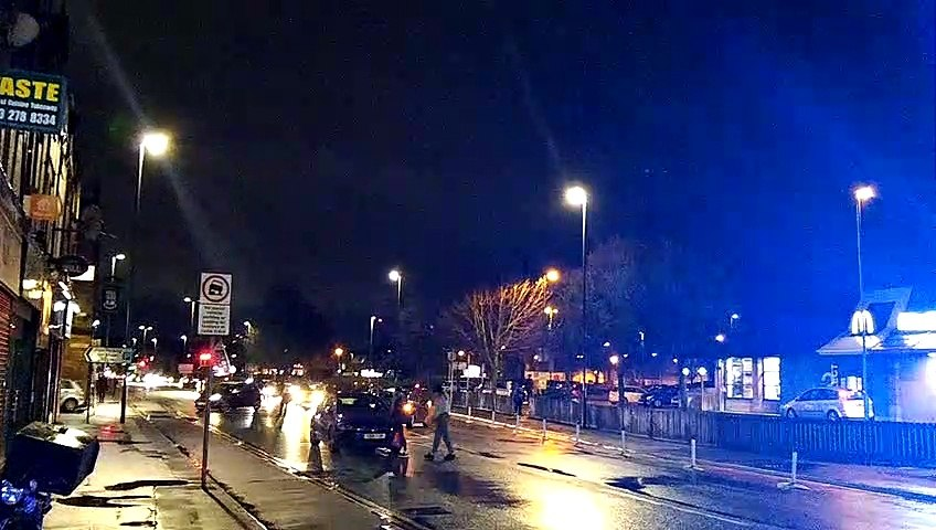 Kirkstall Road crash