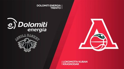 7Days EuroCup Highlights Top 16, Round 2: Trento 96-84 Lokomotiv