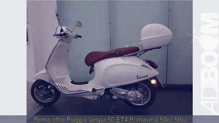PIAGGIO Vespa 50 ET4 Primavera 50cc