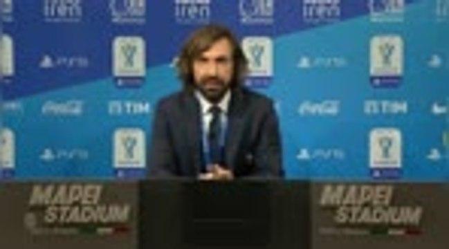 """Supercoupe d'Italie - Pirlo : """"On a montré qu'on n'est pas l'équipe qui a perdu à San Siro dimanche"""""""