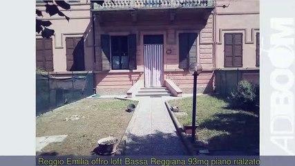 loft Bassa Reggiana mq93 piano rialzato