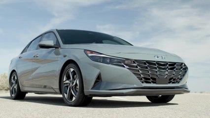 2021 Hyundai Elantra Hybrid Exterior Design