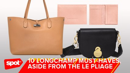 10 Longchamp Must-Haves, Aside From the Le Pliage