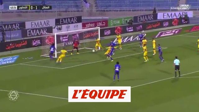 Le but de Gomis face à Al Taawon - Foot - ARA - Al-Hilal