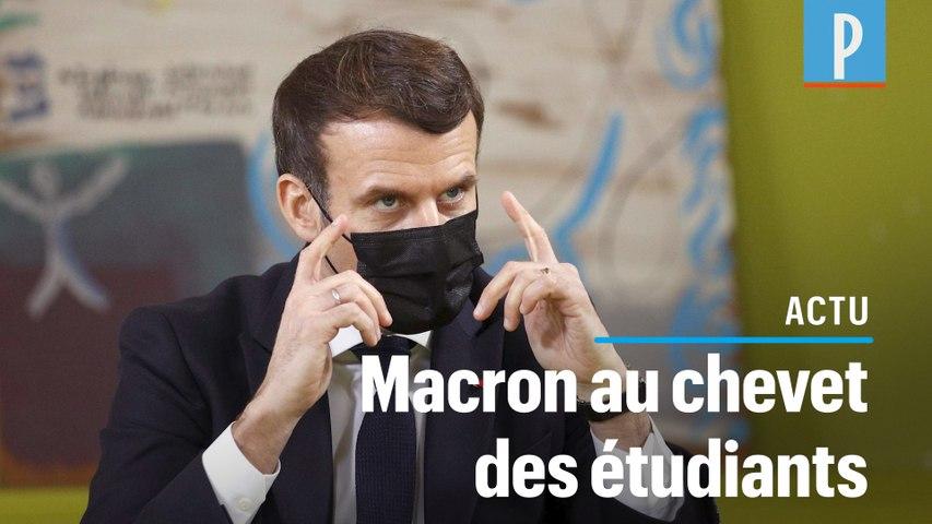 Repas à 1 euro, «chèque psy», cours en présentiel... les annonces de Macron pour les étudiants