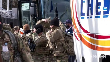 National Guard Troops Deployed in DC for Inauguration