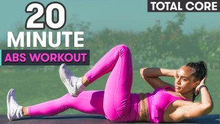 20 Minute Abs Workout with Warm Up