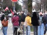 Une centaine d'étudiants stéphanois mobilisés contre la précarité - Reportage TL7 - TL7, Télévision loire 7