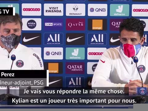 """21e j. - Perez : """"Mbappé, un joueur clé"""""""