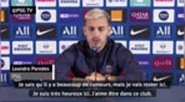 """PSG - Paredes : """"Je vais rester ici"""""""