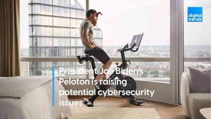 President Joe Biden's Peloton is raising potential cybersecurity issues