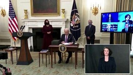 Biden presenta su plan para abordar la pandemia en EEUU