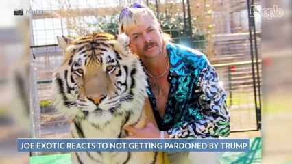 Tiger King's Joe Exotic Speaks Out After Not Receiving Pardon from Donald Trump