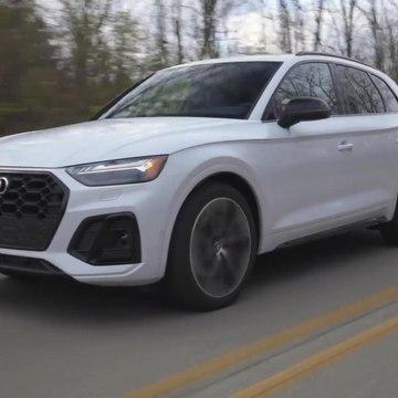 2021 Audi SQ5 Driving Video