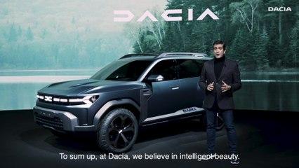 Dacia Bigster Concept - Interview Alejandro MESONERO-ROMANOS, designer