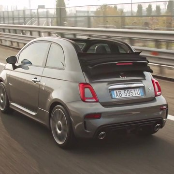 New Abarth 595 Esseesse Driving Video