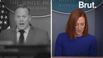 First White House press briefing: Biden Admin vs. Trump Admin
