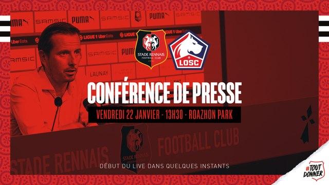 J21. #SRFCLOSC - Conférence de presse d'avant-match en direct du Roazhon Park