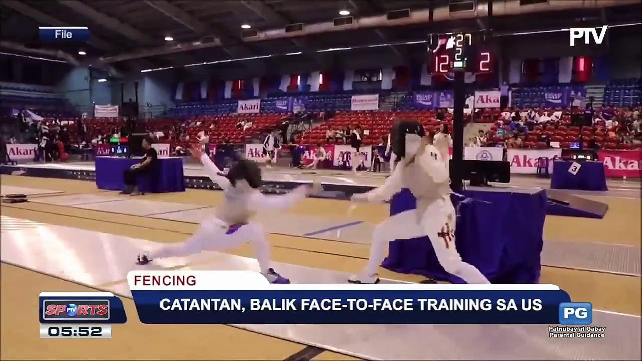 SPORTS BALITA: Catantan, balik face-to-face training sa US