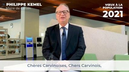 Les vœux de Philippe Kemel pour 2021